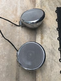 Motorcycle speakers 5.25 in-1 1/4 in clamps Alexandria, 22304