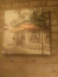 brown wooden framed painting of house Temple Hills, 20748