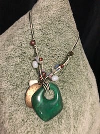 green and silver pendant necklace El Cajon, 92021