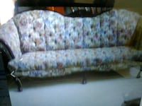 Victorian wood buttin back sofa or loveseat each 1000 mi