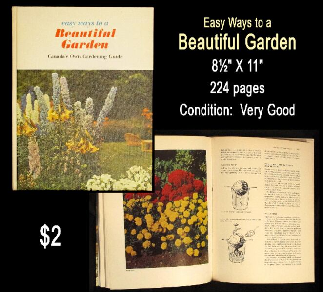 Colourful Gardening Books . . . $2 each a9991f35-2651-45e8-b016-b16ff222225c