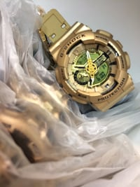 "Gold G-Shock ""Brand New """