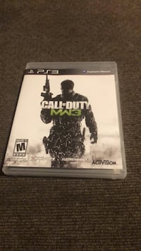 Call of Duty MW3 PS3 game case Roseville, 95678