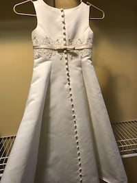 Jr Bride/Flower Girl dress - perfect condition Ankeny, 50021