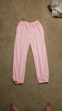 Pink sweatpants (size xl)