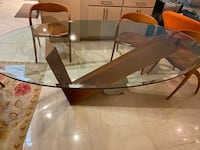 Beautiful Modern Glass Table with 8 Chairs Fairfax, 22032