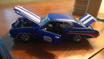 Ltd Edition Crown Petroleum diecast car
