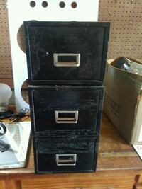 black metal 3-drawer filing cabinet Melbourne, 32935