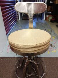 Industrial Bar Stools (Set 3) Bowie