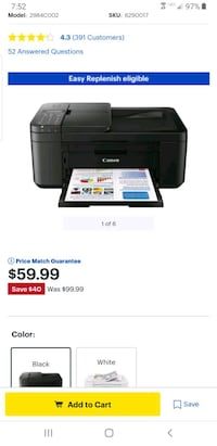 brand New Cannon printer, scanner, fax Framingham, 01702