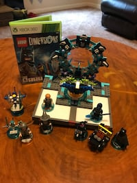 Xbox 360 LEGO Dimensions - docking station and game with characters Dallas, 30157