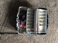 Tackle box fishing rod  Edmonton, T6W 2A2