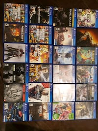 ps4 games for sale  Ottawa, K4P 0B2