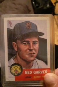 Need garber pitcher card