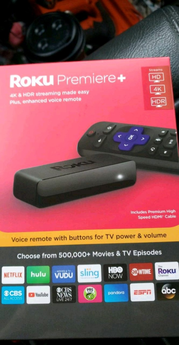 Roku Box: Used New Roku Premiere Plus For Sale In Colonial Heights