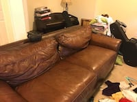 Two Bernhardt Leather Couches Lorton, 22079
