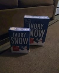 antiaue first Ivory snow boxs ever made still full of sope  1815 mi
