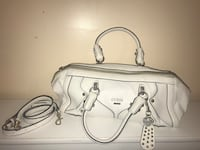 WHITE GUESS HANDBAG WITH SHOULDER STRAP Toronto