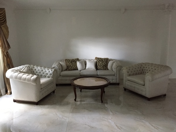 Strange Gray And White Floral Sofa Set Gmtry Best Dining Table And Chair Ideas Images Gmtryco
