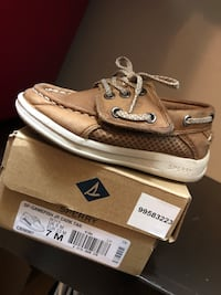 pair of brown Sperry boat shoes Pharr, 78577