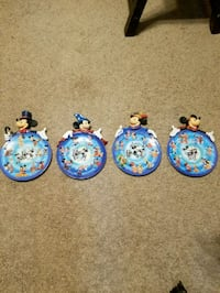 Mickey Mouse plates, 75th anniversary  Ormond Beach, 32174