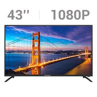 """NEW 43"""" LED TV IN THE BOX"""
