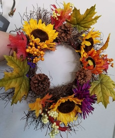 Wreath Bright and Cheerful
