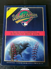 Toronto Blue Jays Book 1992 World Series