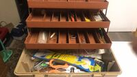 Fishing tackle and box College Park, 20740