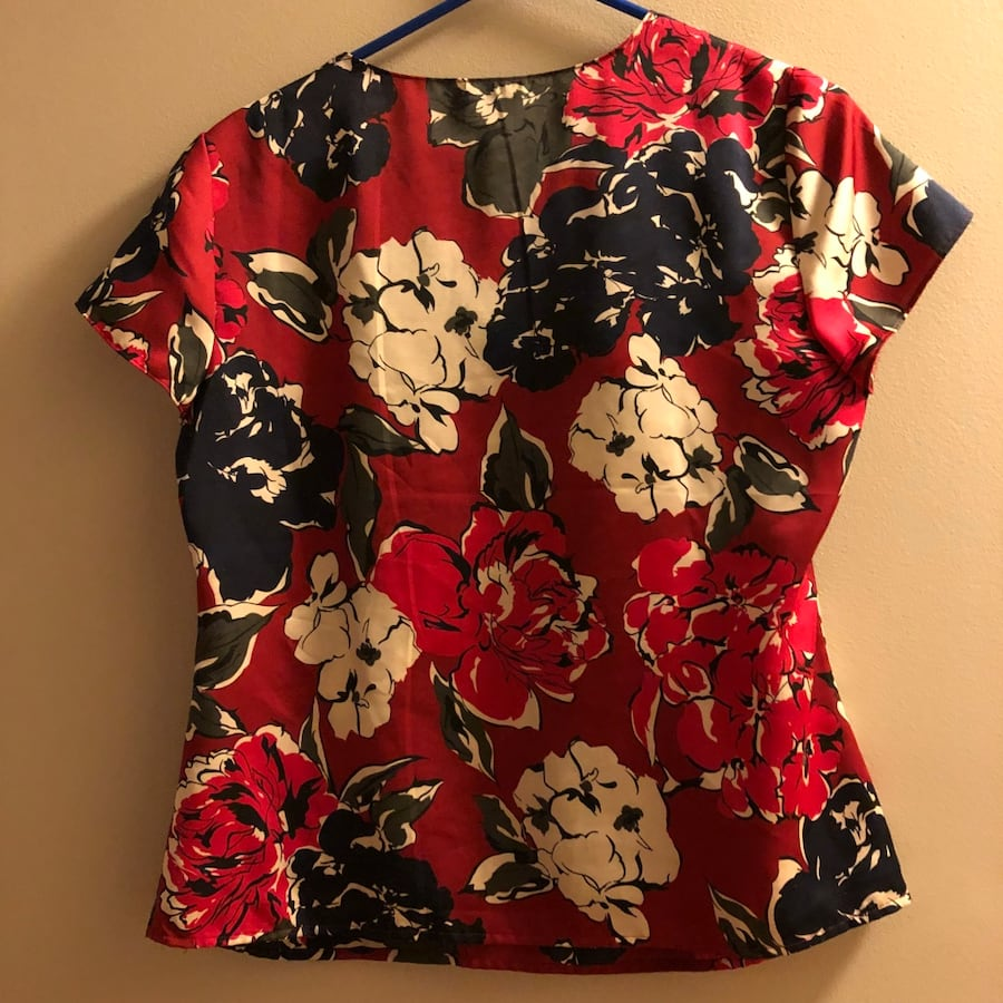 Talbots printed top