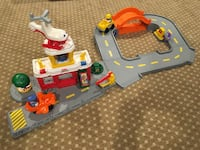 Little people airport play set