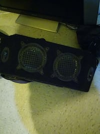 speakers with tweeters.