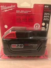 Black and red milwaukee battery charger Yonkers
