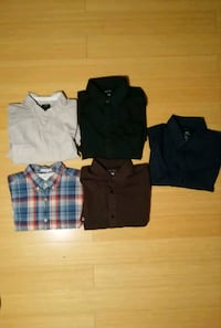 H&M collared shirts collection