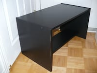 Black Table with Storage Pointe-Claire