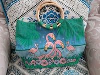 Green hand bag Mississauga, L5A 3P8