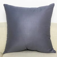 Two 100% Cotton Dark Grey Cushion Covers Vancouver, V6E