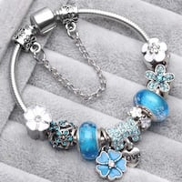 Best Friends Charm Bracelet with all Charms
