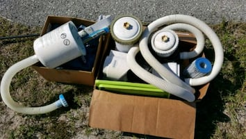 Free above ground pool equipment pump cover filters and accessories