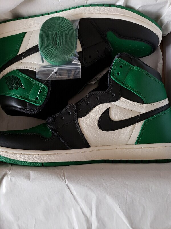 0ea1a0551c382e Used Trade for size 11. Jordan 1s Pine Green size 10.5  275 obo for ...