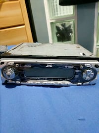 black and gray JVC KD-SC500 1-DIN head unit Port Coquitlam, V3C 1Z8