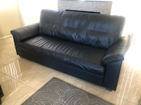 Barely used leather sofa, great condition Las Vegas, 89129