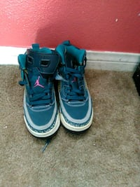 pair of blue Nike Air Force 1 high Beaumont, 92223
