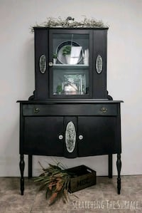 Lovely Licorice Antique Cabinet  Whitby, L1N 3G8