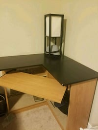 brown and black wooden computer desk 3116 km