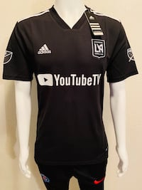 Black and white adidas LAFC Jersey  Moreno Valley, 92553
