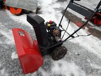 """MTD SNOW BLOWER 5HP, 22"""" 2 STAGE WITH CHAINS $325 Monrovia"""