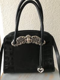 "Brighton ""chantilly"" Black tote/purse great condition this is a vintage piece no longer made by Brighton. Roseville, 95747"
