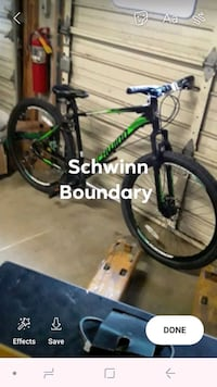 Schwinn Boundary worth 300. Barely used.  Elmira, 14904