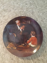 Norman Rockwell the tycoon plate  Lynn, 01905